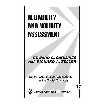Reliability and Validity Assessment by Carmines & Edward G.