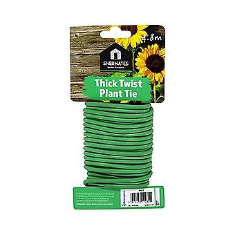 Shedmates TT1T Garden Sponge 5mm Thick Twisty Flexible Plant Tie Support 4.8M Length