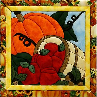Quilt-Magic No Sew Wall Hanging Kit-Harvest