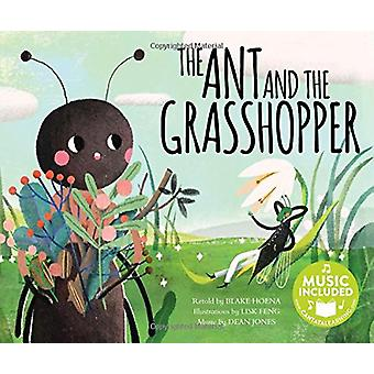 The Ant and the Grasshopper by Blake Hoena - 9781684101849 Book