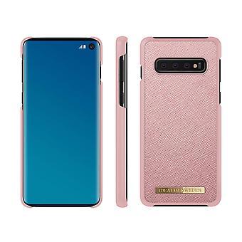 iDeal Da Suécia Samsung Galaxy S10 Saffiano Peel-Pink