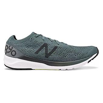 New Balance 890v7 Mens Lightweight & Responsive 6mm Drop Road Running Shoes Dark Agave