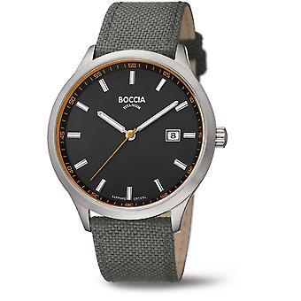 Boccia Titanium 3614-01 Miesten Watch