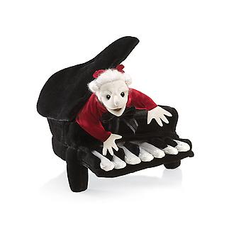 Hand Puppet - Folkmanis - Mozart In Piano Animals Soft Doll Plush 2860