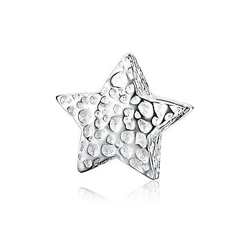 Sterling silver charm Starry