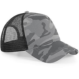 Beechfield - Camo Snapback Cap Hat Trucker Cap