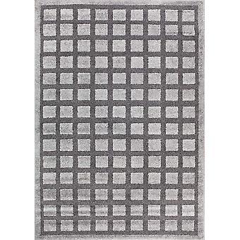 Design matto korkealaatuista tummanharmaa/vaaleanharmaa