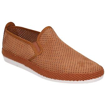 Flossy Mens Vendarval Slip On Shoe Tan
