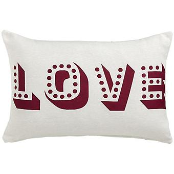 Wellindal Love Light Pillow Case (Decoration , Cushions)
