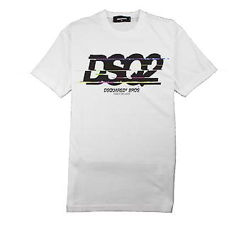 Dsquared2 DSquared2 Bros T-Shirt Bianco