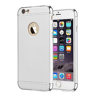 BackCover 3 in 1 voor Apple iPhone 8 - 7 Zilver Zilver