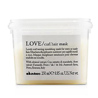 Davines Love Curl Hair Mask (lovely Curl Taming Nourishing Mask For Wavy Or Curly Hair) - 250ml/8.85oz