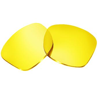 Replacement Lenses for Oakley Holbrook Sunglasses Yellow Anti-Scratch Anti-Glare UV400 by SeekOptics