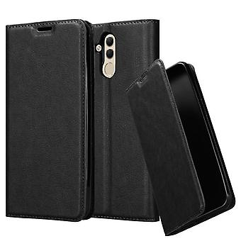 Cadorabo case for Huawei MATE 20 LITE case case cover - phone case with magnetic clasp, stand function and card compartment – Case Cover Protective Case Case Book Folding Style
