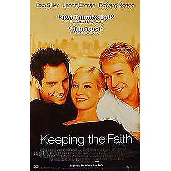 Keeping The Faith (Single Sided Video) Original Video/Dvd Ad Poster