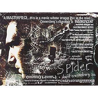Spider (kaksipuolinen) alkuperäinen elokuva juliste