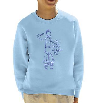 Zits hilvert Doodle kid ' s sweatshirt