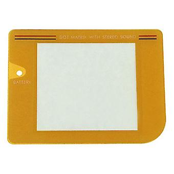 Replacement screen lens plastic cover for nintendo game boy original dmg-01 - yellow