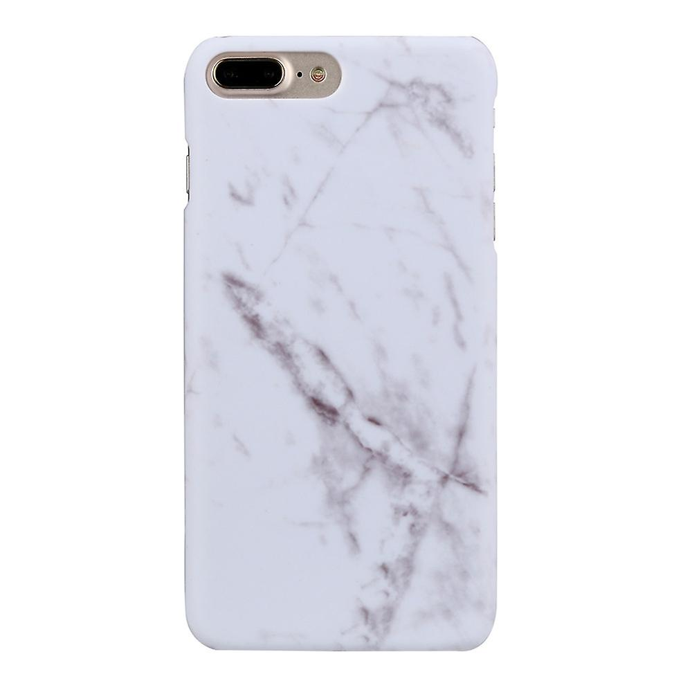 IPhone 7/8 4.7 marble shell protection case white