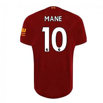 2019-2020 Liverpool Home Football Shirt (Mane 10)