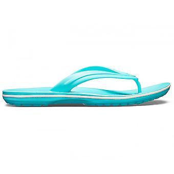 Crocs Crocband flip flop pool/hvid