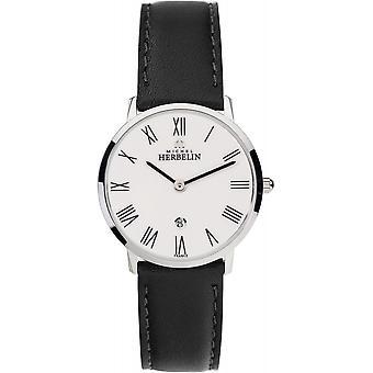 Michel Herbelin 16915-01 Women's White Dial Ikone Wristwatch