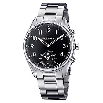 Kronaby S1426-1 Men's Apex Smartwatch Steel Bracelet