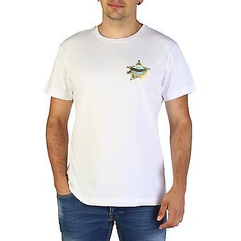 Versace Jeans - Bekleidung - T-Shirts - B3GTB73D_36598_003 - Herren - Weiß - XXL