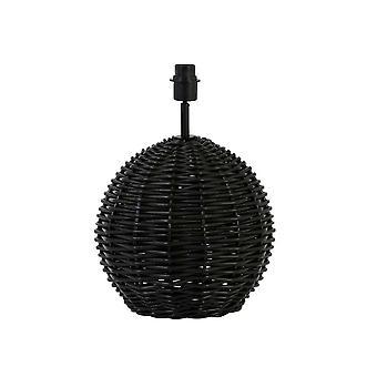 Light & Living Lamp Base Ø34X45 Cm Pantar Rattan Black