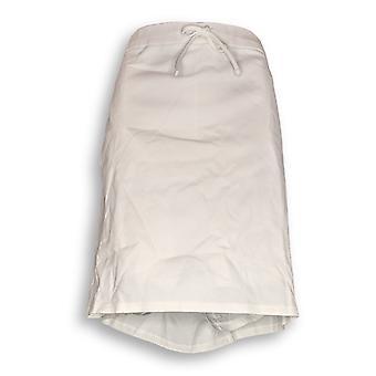 Liz Claiborne New York kvinder ' s plus shorts Pull-on Ponte hvid A253177