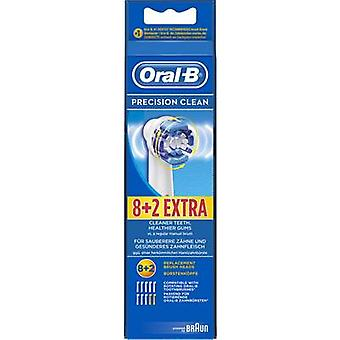 Oral-B Precision Clean Electric toothbrush brush attachments 10 pc(s) White
