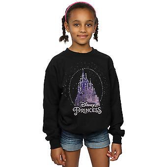 Disney Girls Princess Christmas Castle Sweatshirt