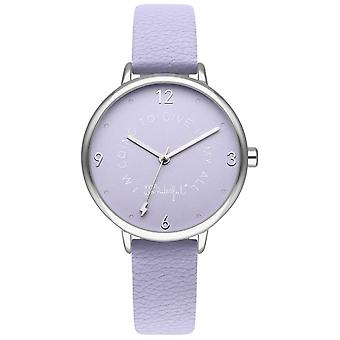 Mr wonderful dream forever Quartz Analog Woman Watch with Synthetic Leather Bracelet WR50301