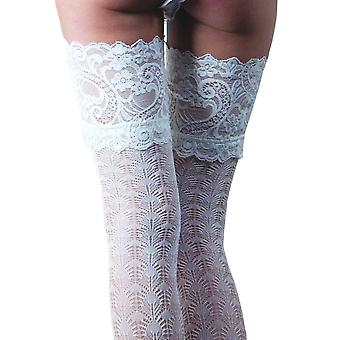 Couture Bridal Lace Top Hold Ups - Hosiery Outlet