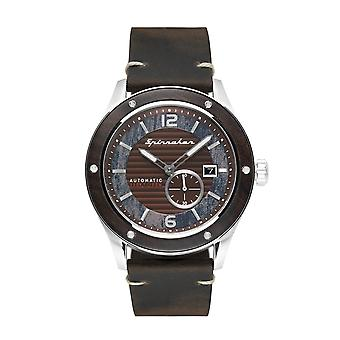Spinnaker SP-5067-01 Gent's Sorrento Brown Dial Wristwatch