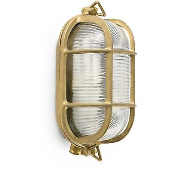 Wellindal Cabo Brass Wall Lamp E27 20W (Lighting , Exterior Lighting , Wall lamps)