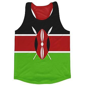 Kenia lippu juoksu liivi