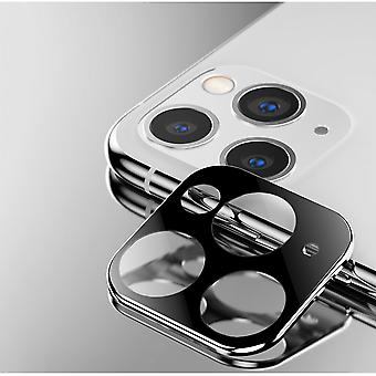 ATB Design Titanium + Tempered Glass Camera Lens Protector iPhone 11 Pro - 11 Pro Max Silver