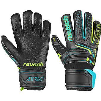 Reusch Attrakt RG Open Cuff Finger Support Junior Goalkeeper Gloves