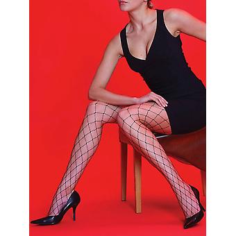 Silky Scarlet Whale Net Tights
