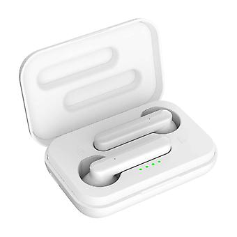 Bluetooth Earphones with Charging Case 3H battery life- Akashi, White