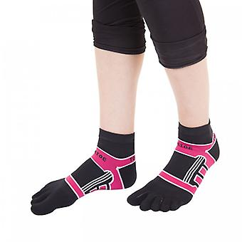 TOETOE Sports Micro-Fibre Running Unisex Trainer Toe Socks