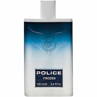 Polizia congelato per uomini Eau de Toilette Spray 100ml