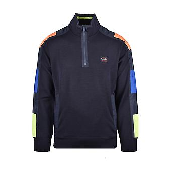 Paul & Shark Paul And Shark Vintage Stylehalf Zip Knitwear Navy