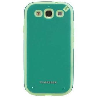 PureGear Slim Shell Case för Samsung Galaxy S3-pistasch Mint