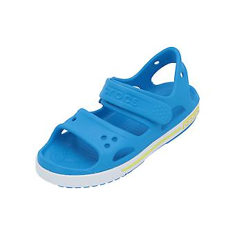 Crocs Crocband II Sandal PS Kids Boys Sandals Blue Flip-Flops Chaussures d'été