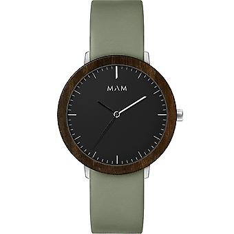 Mam Original Japanese Quartz Analog Man Watch with FERRA 625 Cowskin Bracelet