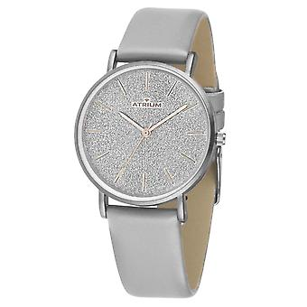 ATRIUM Women's Watch Wristwatch A35-10 grey glitter dial