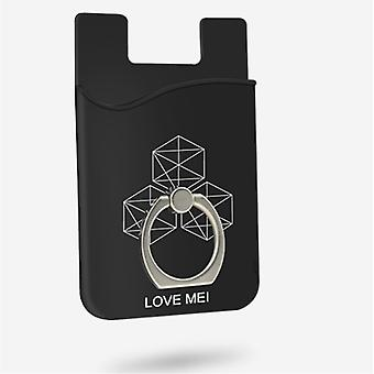 LOVE MEI Universal cardholder mobile phones Fingerring Kickstand