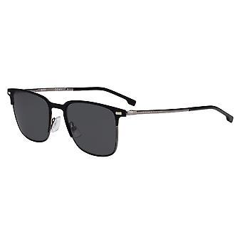 Hugo Boss 1019/S 003/IR Matte Black/Grey Sunglasses